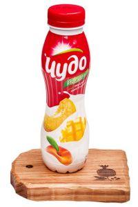 ...Чудо йогурт (персик, манго, дыня) 2.4% 290 г