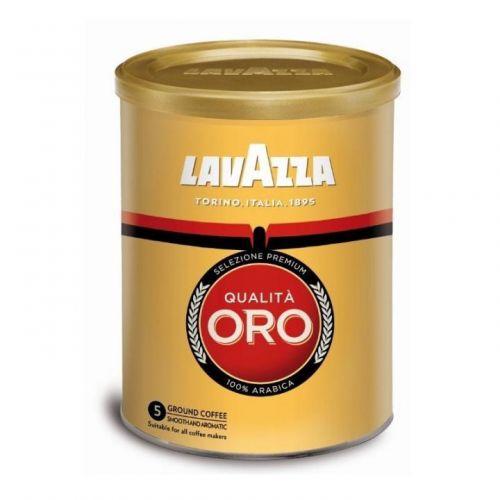 Кофе Lavazza молотый Oro 250гр (жестяная банка)